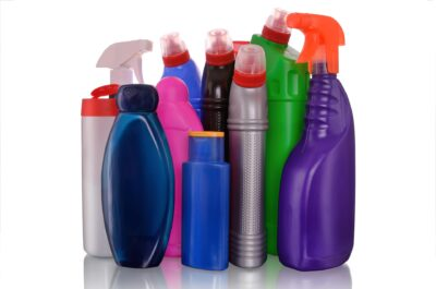 Houston commercial cleaning supplies bottles